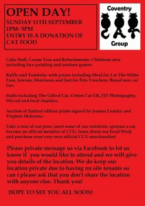 News – Coventry Cat Group